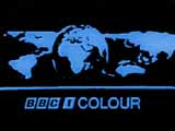 BBC 1's first colour ident (11K)
